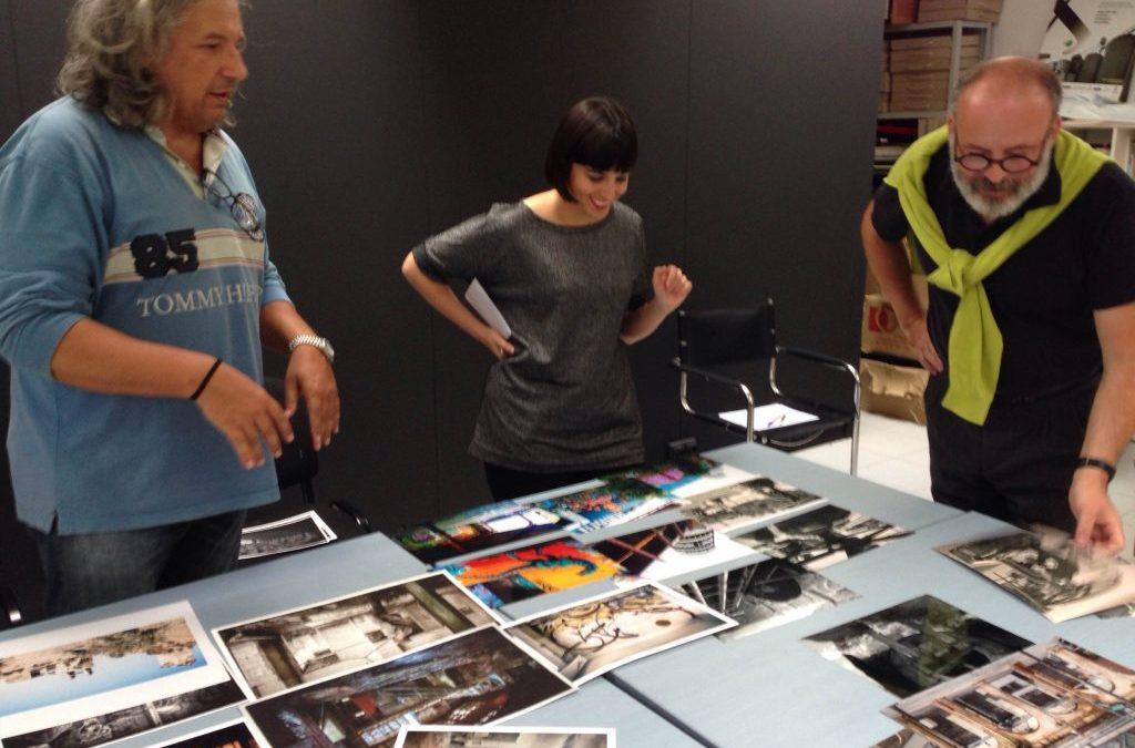Daniel Ordóñez García, ganador del XIII Certamen de Fotografía sobre Patrimonio Industrial INCUNA 2016, con una obra sobre la Fábrica de Loza de San Claudio