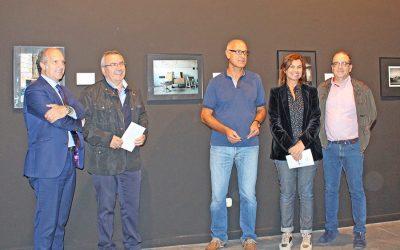 Exposición de la Muestra Fotográfica sobre Patrimonio Industrial y Paisajes Urbanos Certamen Internacional INCUNA 2017 en Museo del Ferrocarril en Gijón