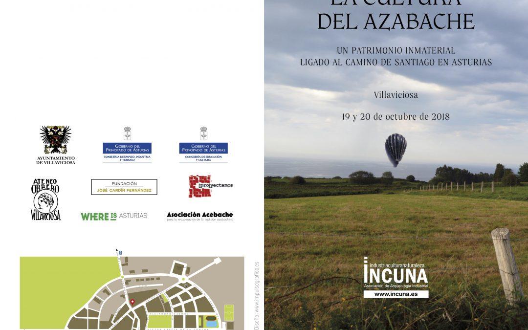 Jornadas sobre Culturas del Azabache comienzan el viernes 19 en Villaviciosa a partir de las 10,30 h. en sede de la Fundación Cardín