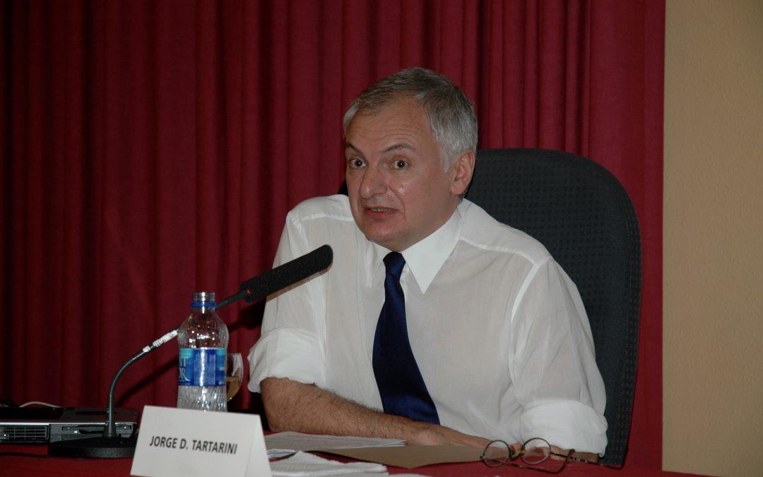 Jorge Tartarini, tristeza y dolor ante la pérdida de uno de los grandes en la investigación y gestión del patrimonio industrial