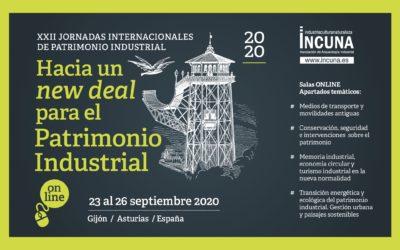 CALL FOR PAPERS, llamada a la participación en las XXII Jornadas Internacionales de Patrimonio Industrial del 23 al 26 de septiembre de 2020