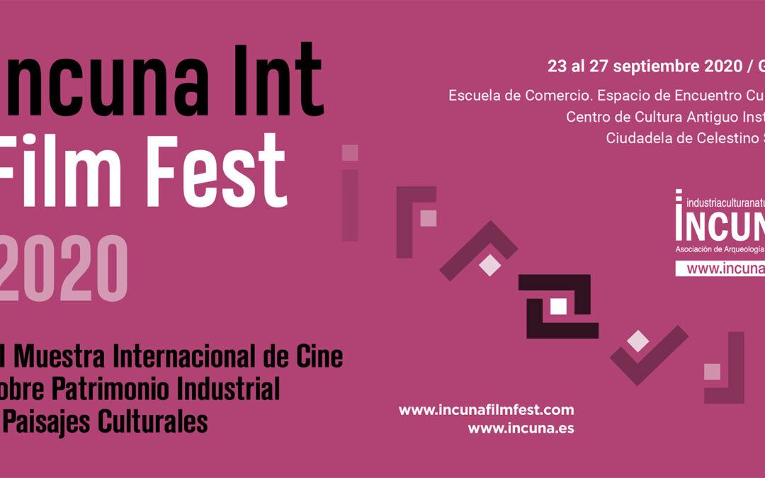 INAUGURACIÓN III MUESTRA INTERNACIONAL DE CINE SOBRE PATRIMONIO INDUSTRIAL Y PAISAJES CULTURALES INCUNA FILM FEST 2020